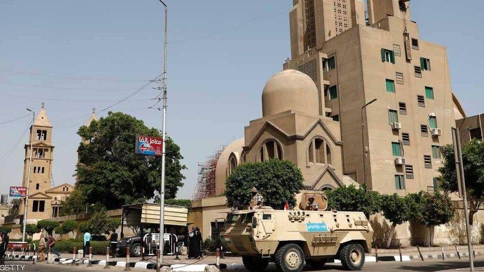 صورة أرشيفية لكنيسة في القاهرة