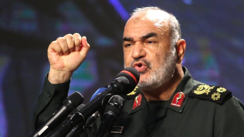 الميجور جنرال حسين سلامي قائد الحرس الثوري الإيراني