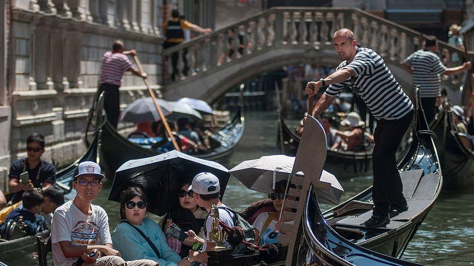 Venecia antes de la pandemia
