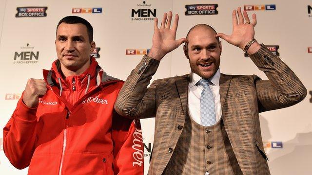 Tyson Fury v Wladimir Klitschko: Champ or Chump?