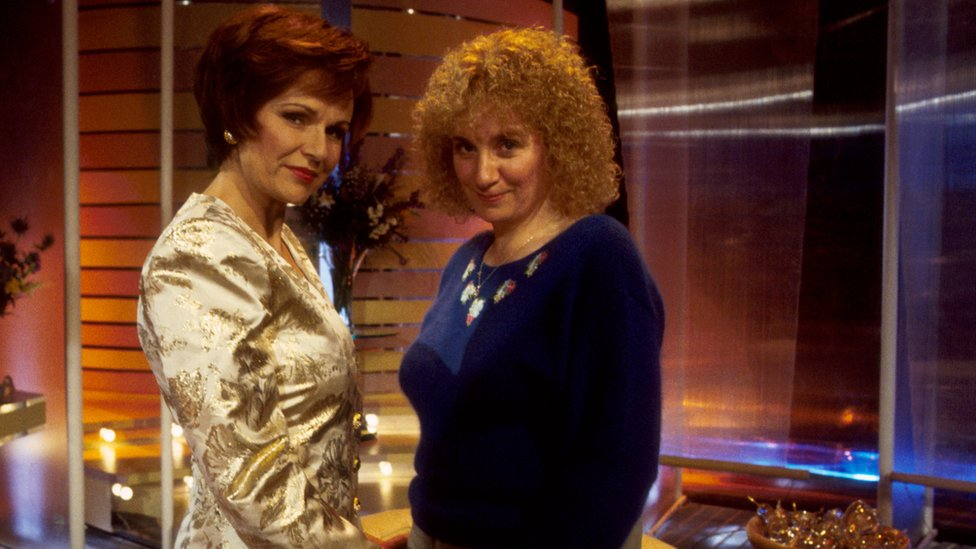 Julie Walters and Victoria Wood in Pat and Margaret