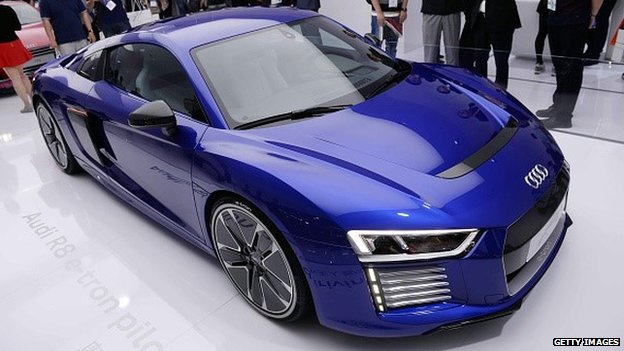 Audi prototype driverless car
