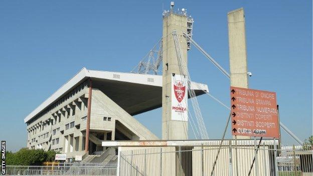 AC Monza's Brianteo Stadium