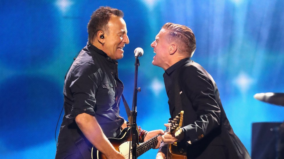Bruce Springsteen and Bryan Adams