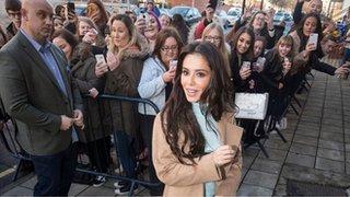 BBC News - Cheryl opens Newcastle Prince's Trust centre