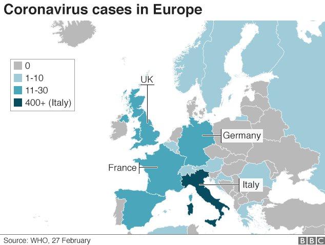 Coronavirus In Europe Epidemic Or Infodemic Bbc News