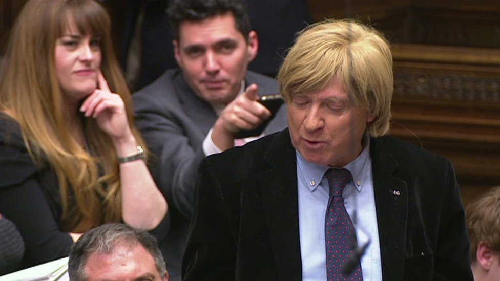 Tory MP Michael Fabricant hits back over 'wig jibe'