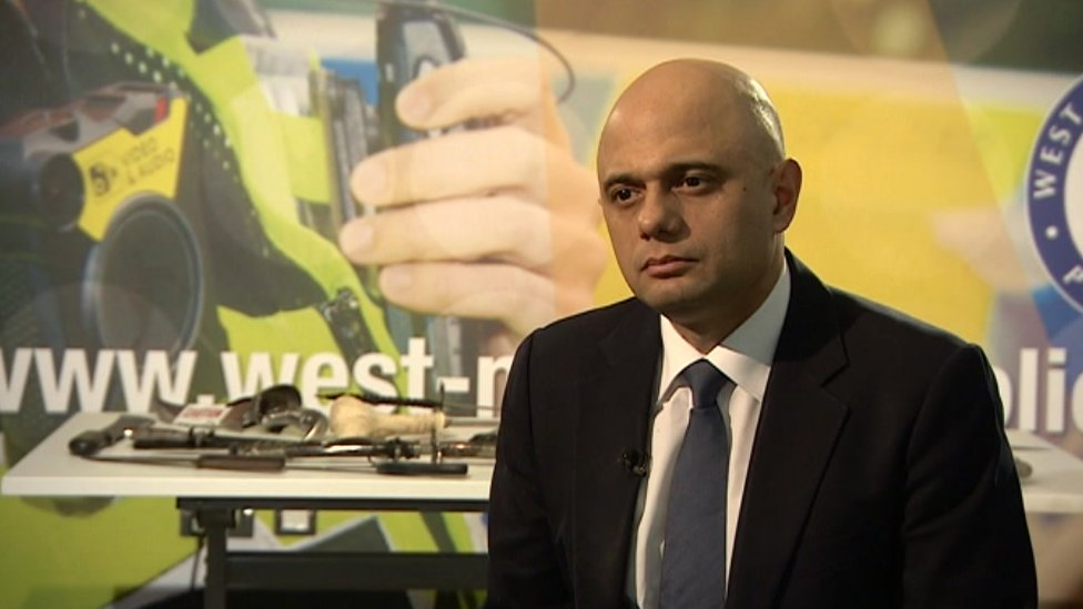 Home secretary 'very concerned' by Birmingham knife crime