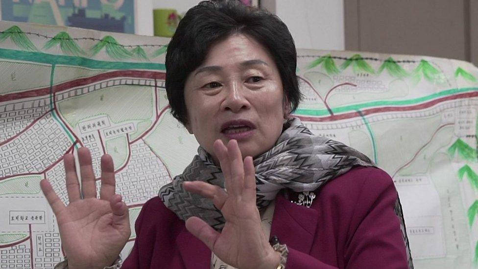 Kim Hye-sook es una exprisionera en Corea del Norte.