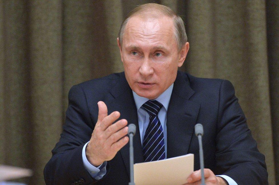 Ruski predsednik Putin 11. novembar 2015.