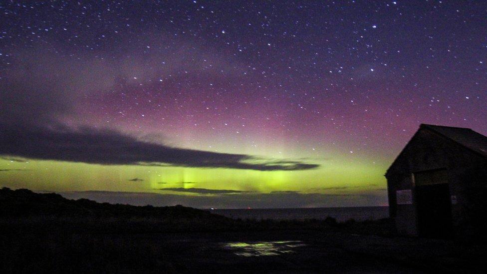 Aurora borealis, Hopeman