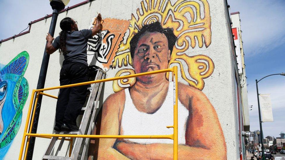 Mural mexamericano