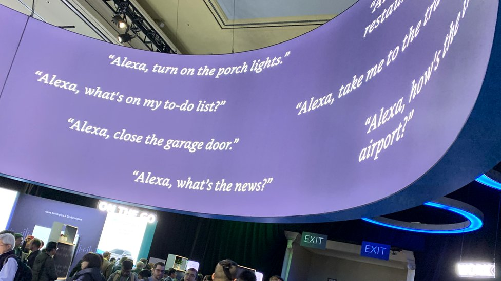 تزايدت أسئلة الناس لتطبيقات مثل أليكسا