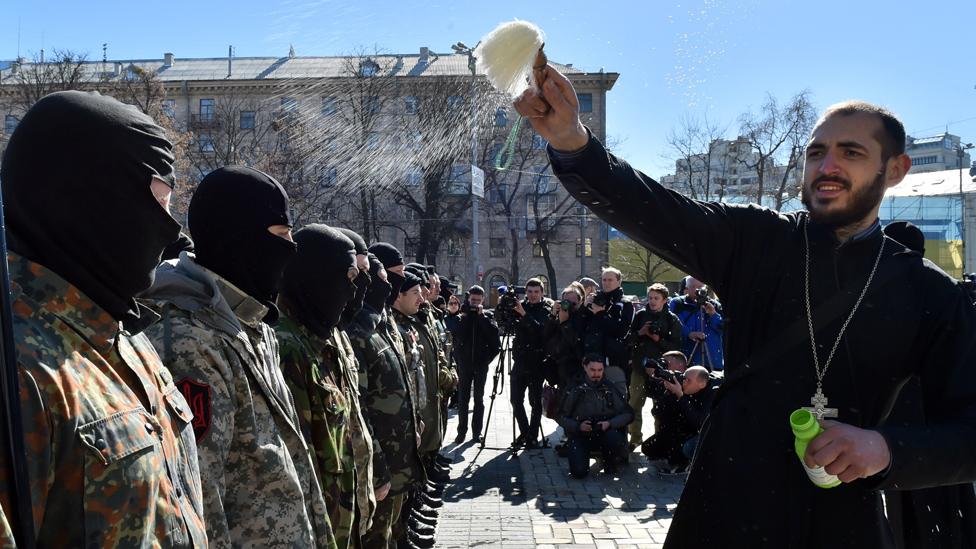 Blessing in Kiev, 17 Mar 15