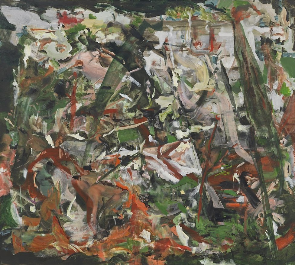 There'll always be an England, 2019, by Cecily Brown