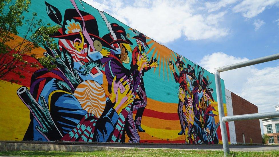 Murales en Fort Smith