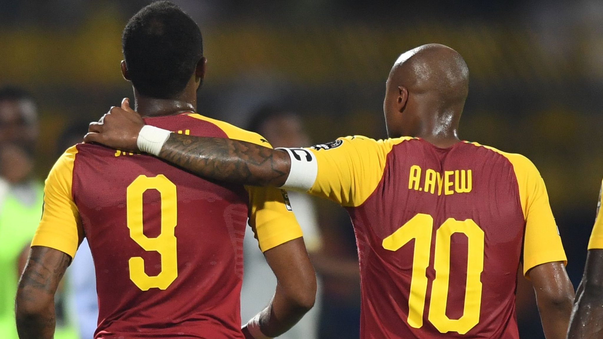 Africa Cup of Nations: Ayew brothers on target as Ghana draw with Benin