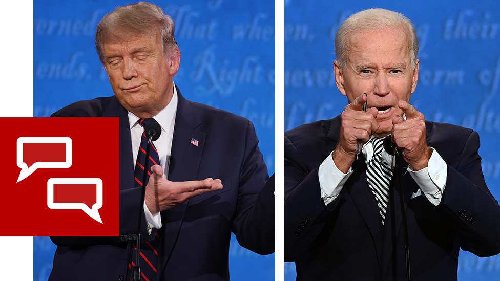 Налоги, расизм и вирус: вторые (и последние) дебаты Трампа и Байдена