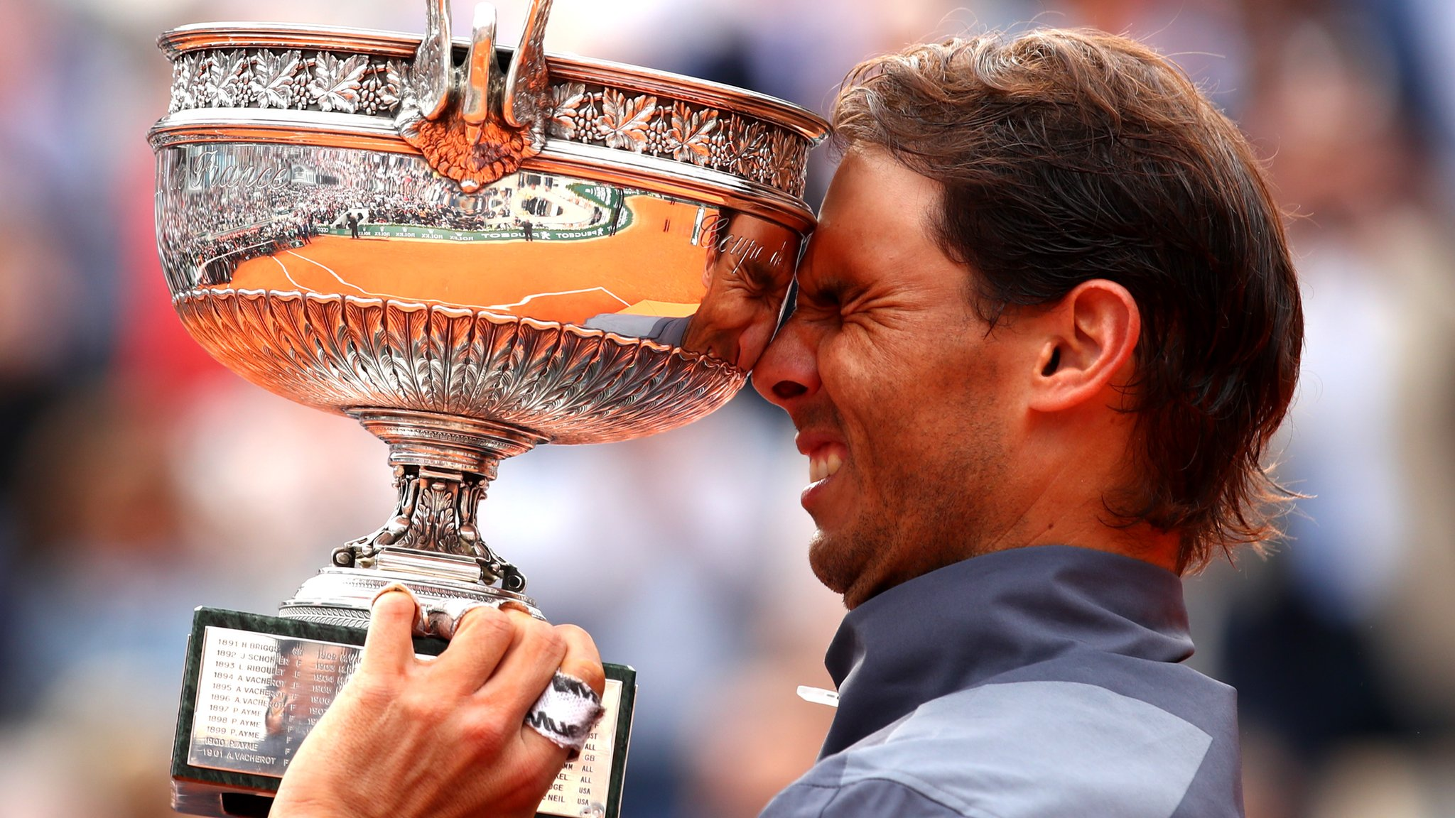 Nadal beats Thiem in four sets to win 12th French Open title