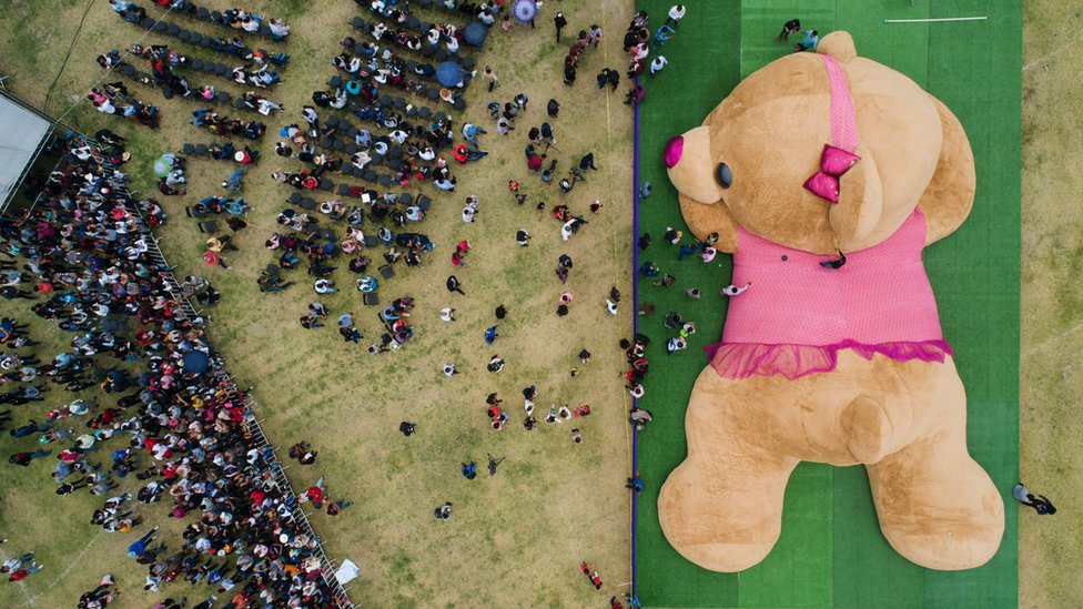 World records: Giant teddy and five other wacky Guinness World Records