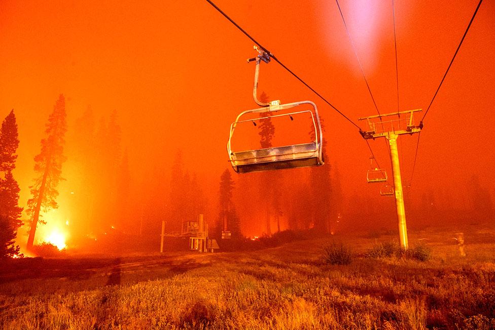 حرائق غابات في كاليفورنيا