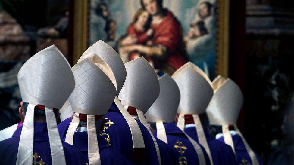 كرادلة في كاتدرائية القديس بطرس - فبراير 2021