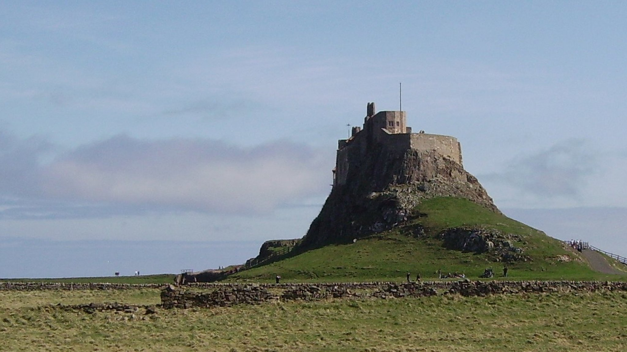'Leaking' Lindisfarne Castle reopens after four years of repairs