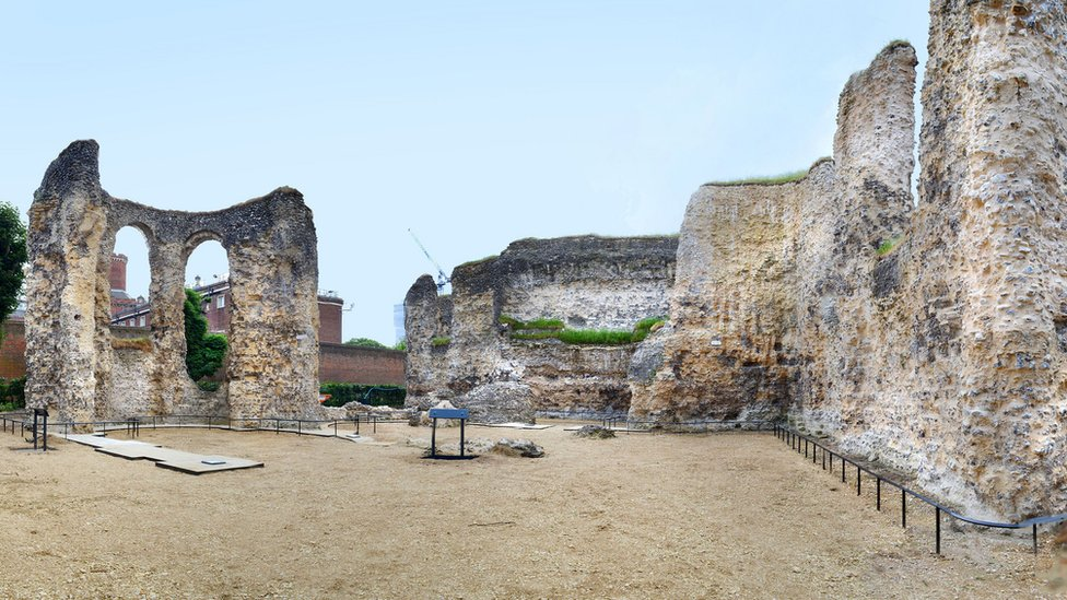 Reading Abbey Abbey ruins reopen after £3m repairs