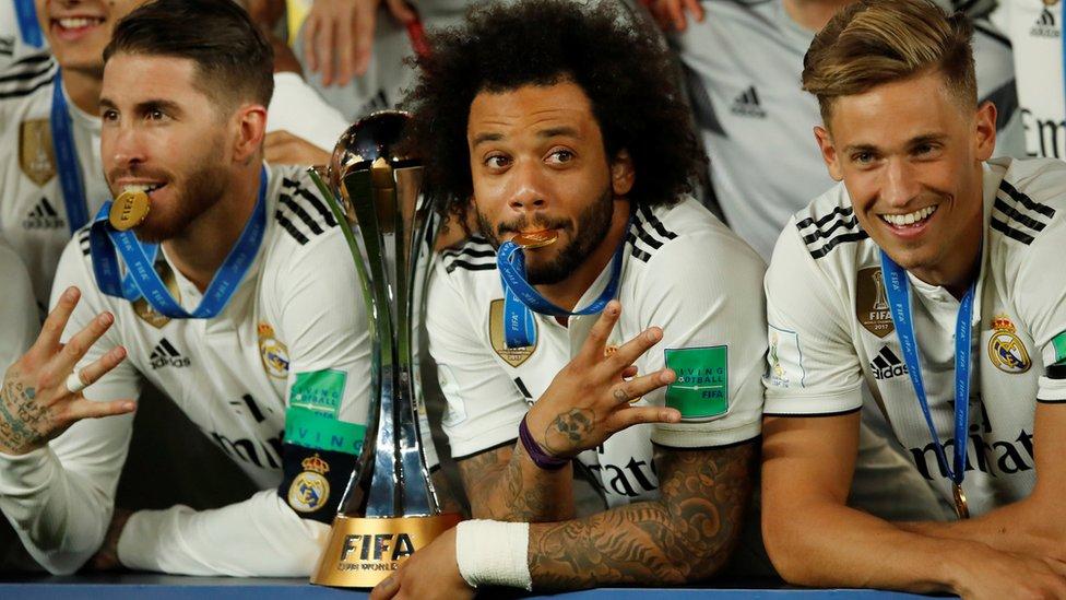 ريال مدريد فاز بكأس العالم للأندية 4 مرات