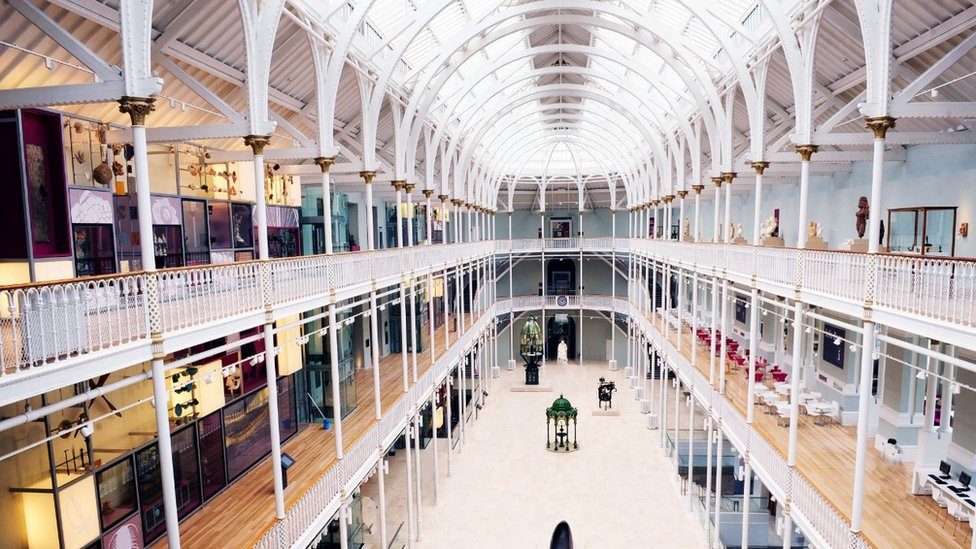 National Museum of Scotland goes virtual in online first - BBC News