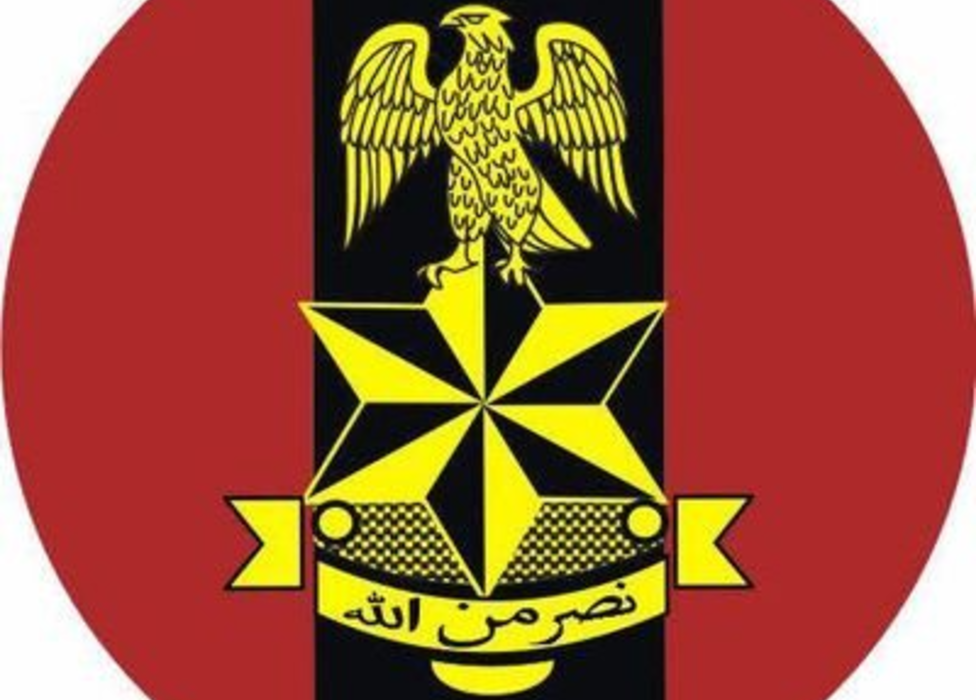 The Nigerian army logo