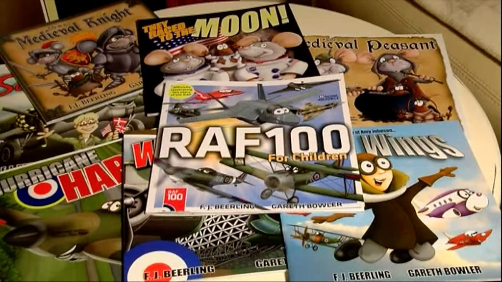 RAF centenary: Children's book marks 100th birthday