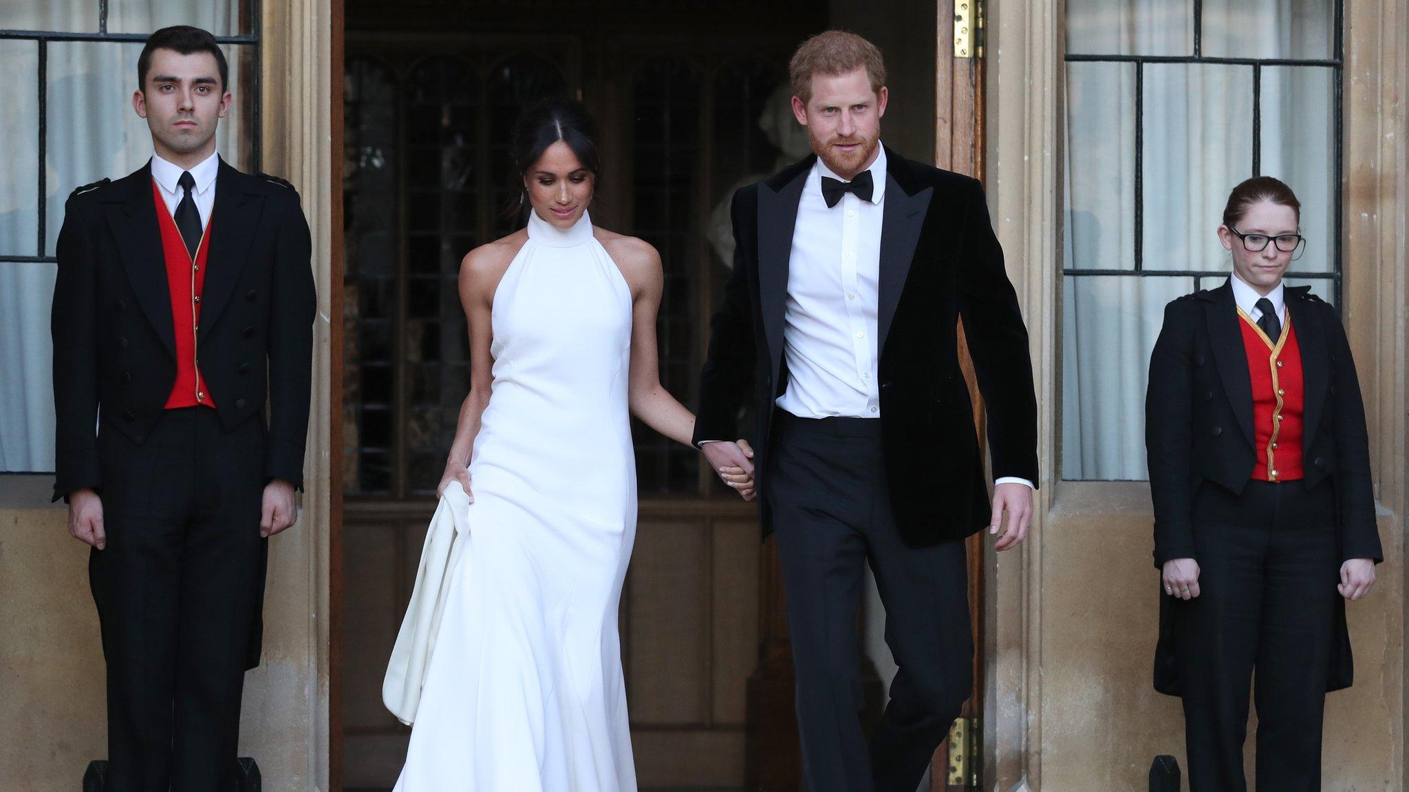 Royal wedding 2018: Couple leave Windsor after wedding