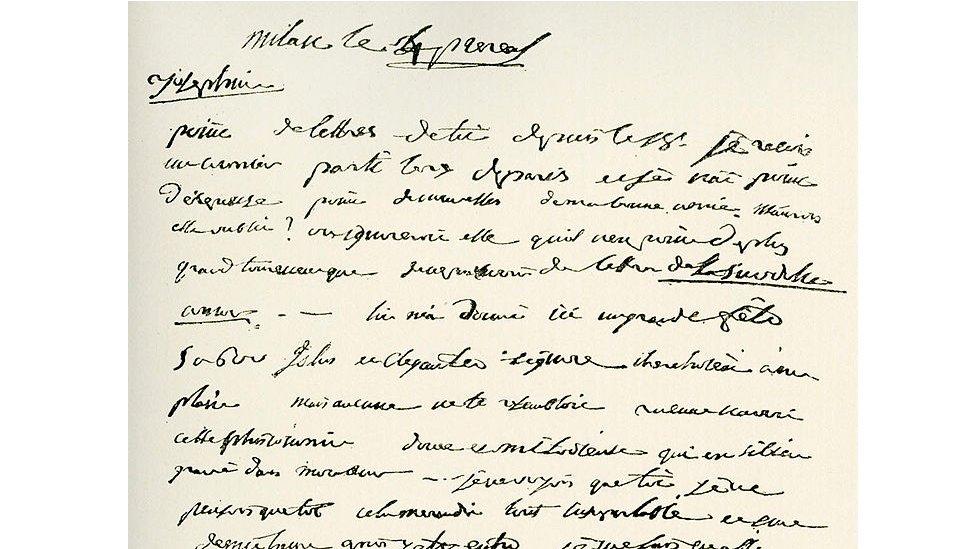 carta de amor napoleón josefina