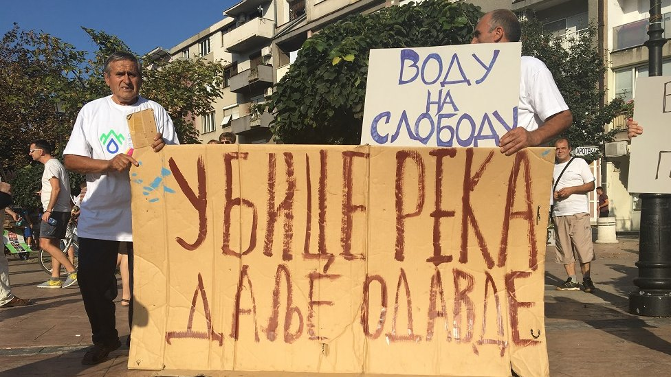 Protest u Pirotu