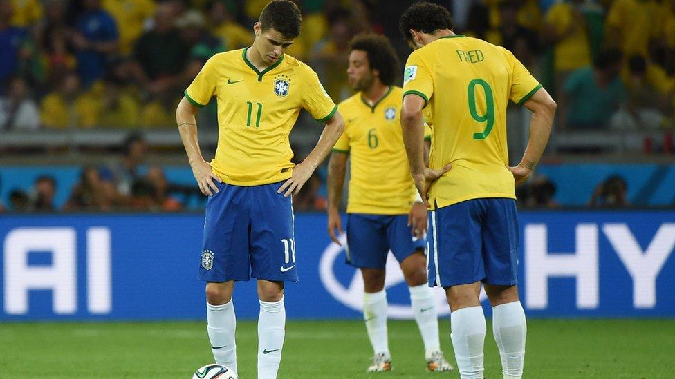 Jugadores brasileños