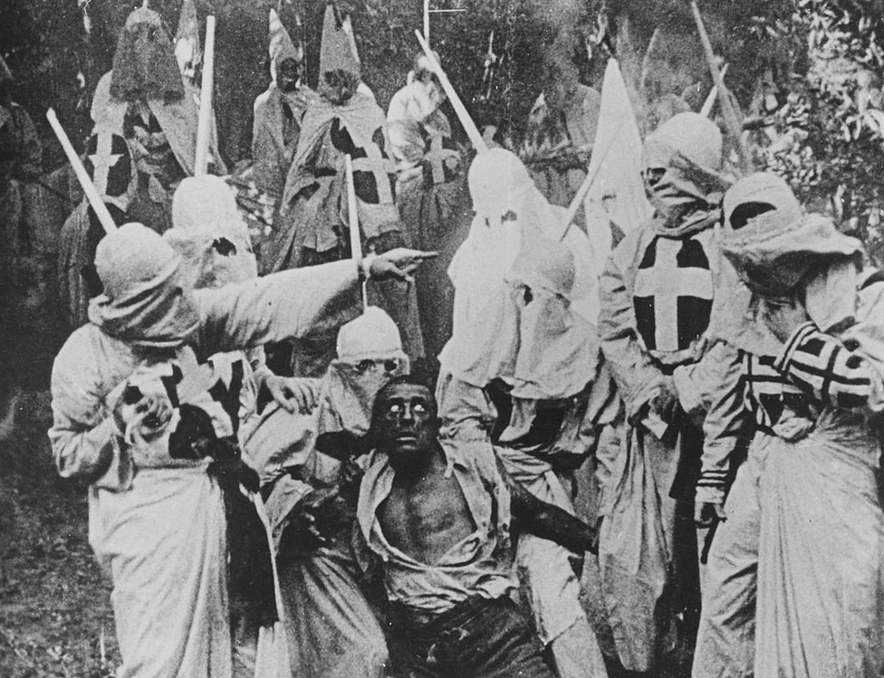 A scene from A Birth of a Nation