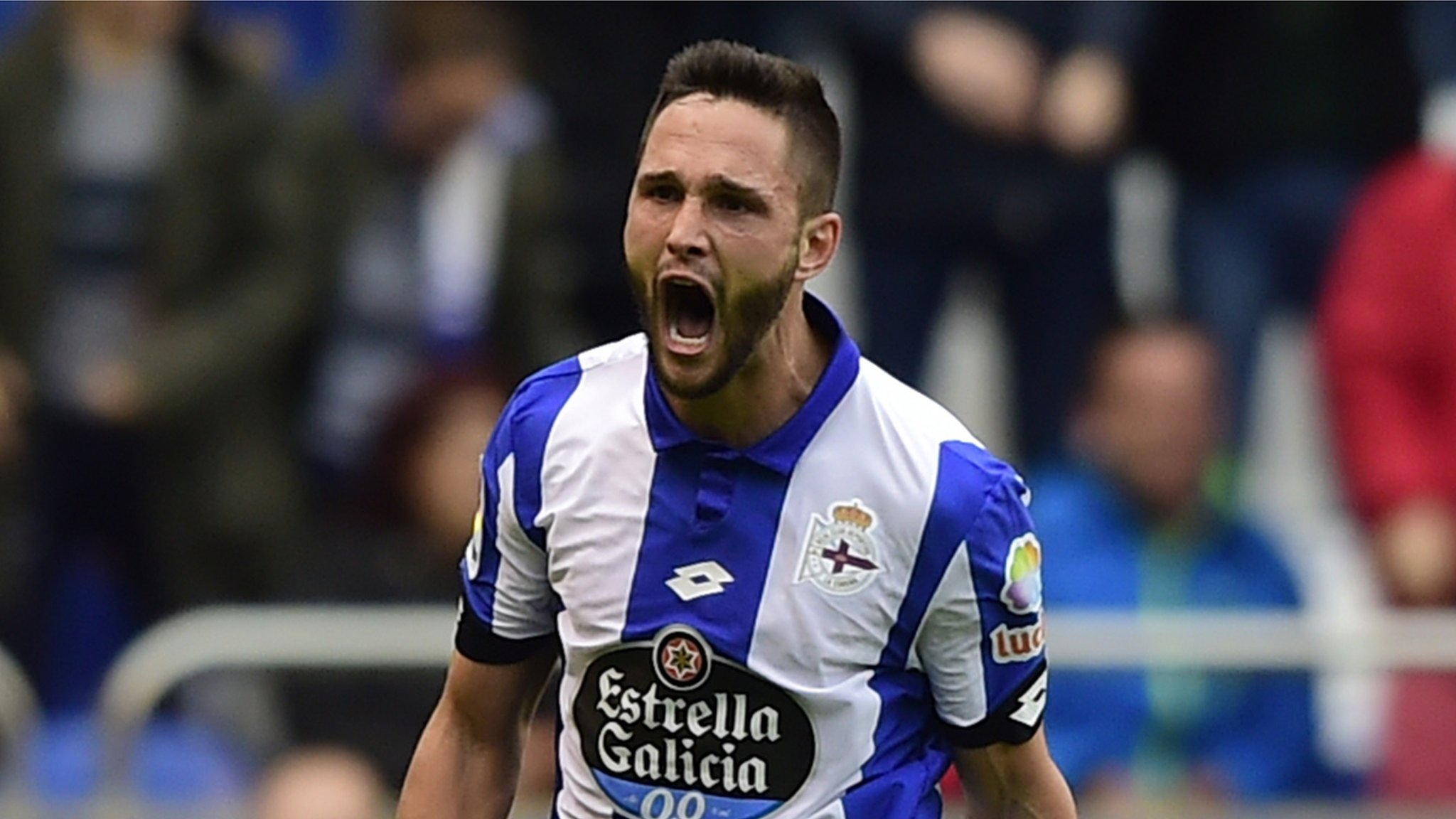 Brighton: Striker Florin Andone to join from Deportivo on five-year deal