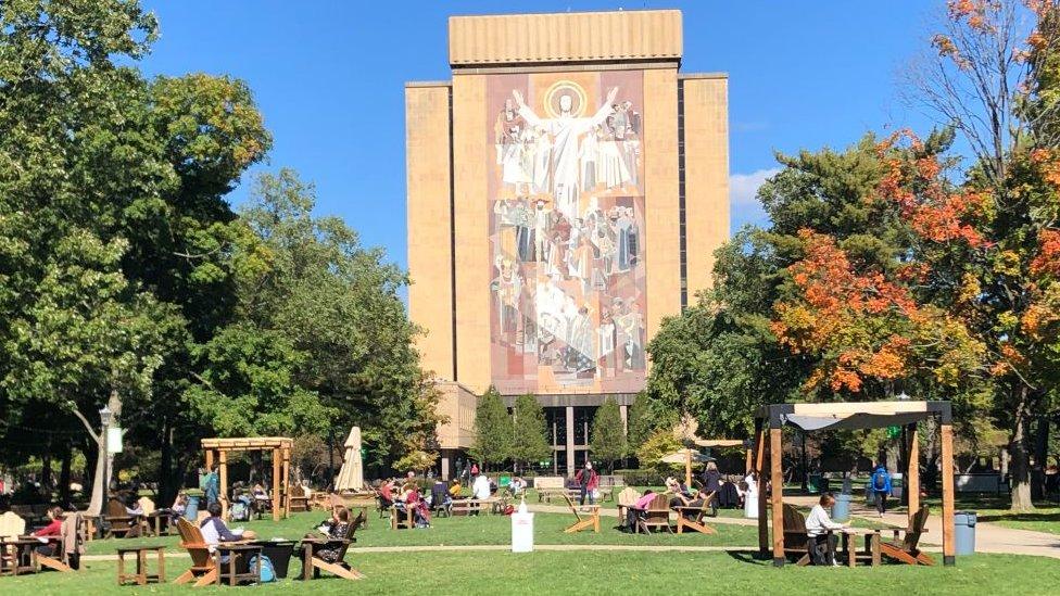 Universidad de Notre Dame en South Bend.
