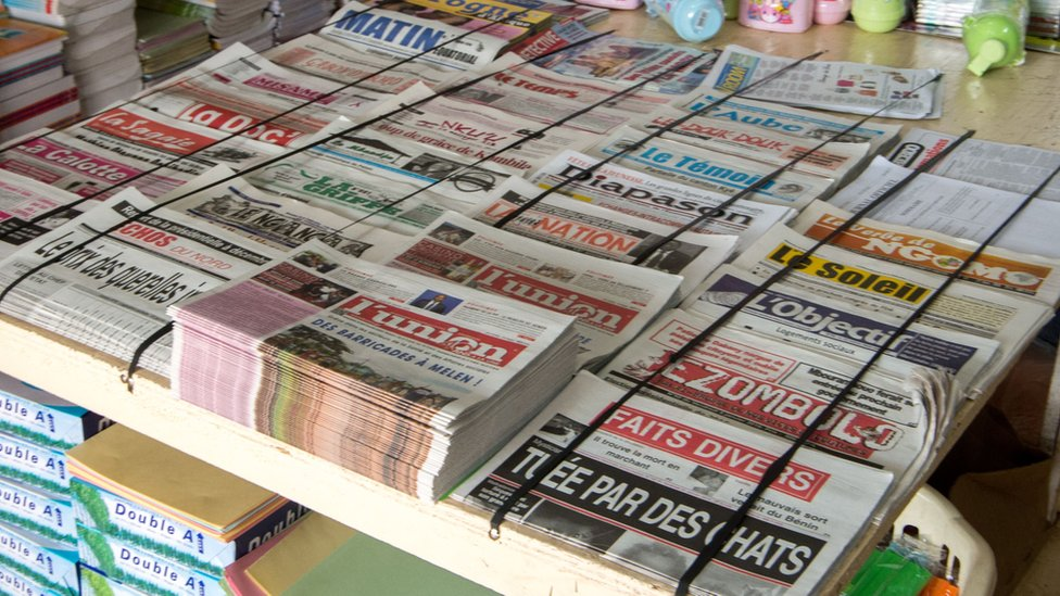 Newspapers in Gabon