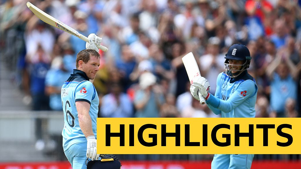 Highlights: England thrash Afghanistan at World Cup