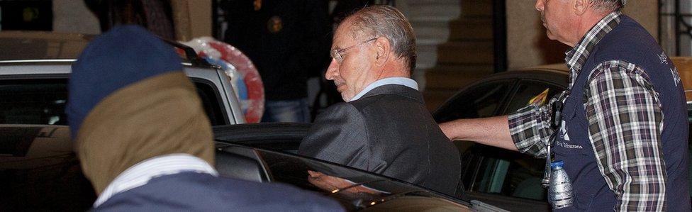 Rodrigo Rato arrested in April 2015