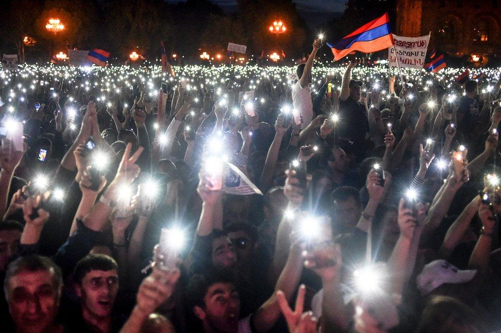 protesti u Jermeniji