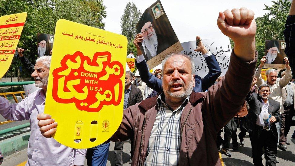 Protesta en Irán