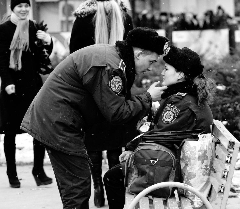 Police in Ukraine