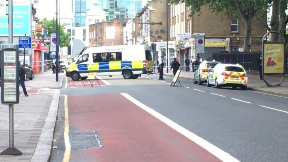 London stabbing: Man killed in Stratford