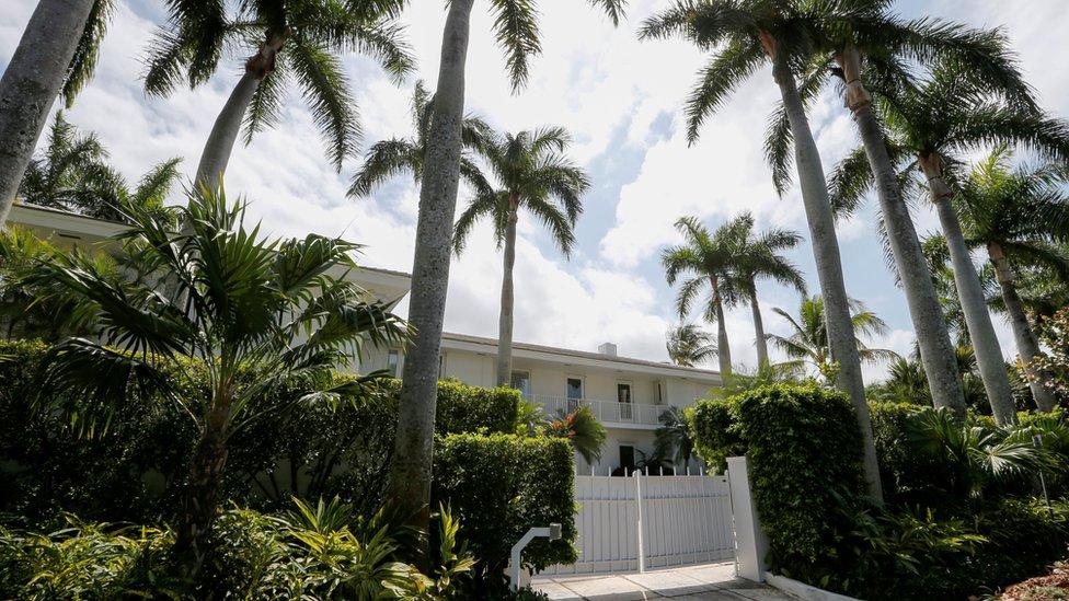 Mansión de Epstein en Palm Beach