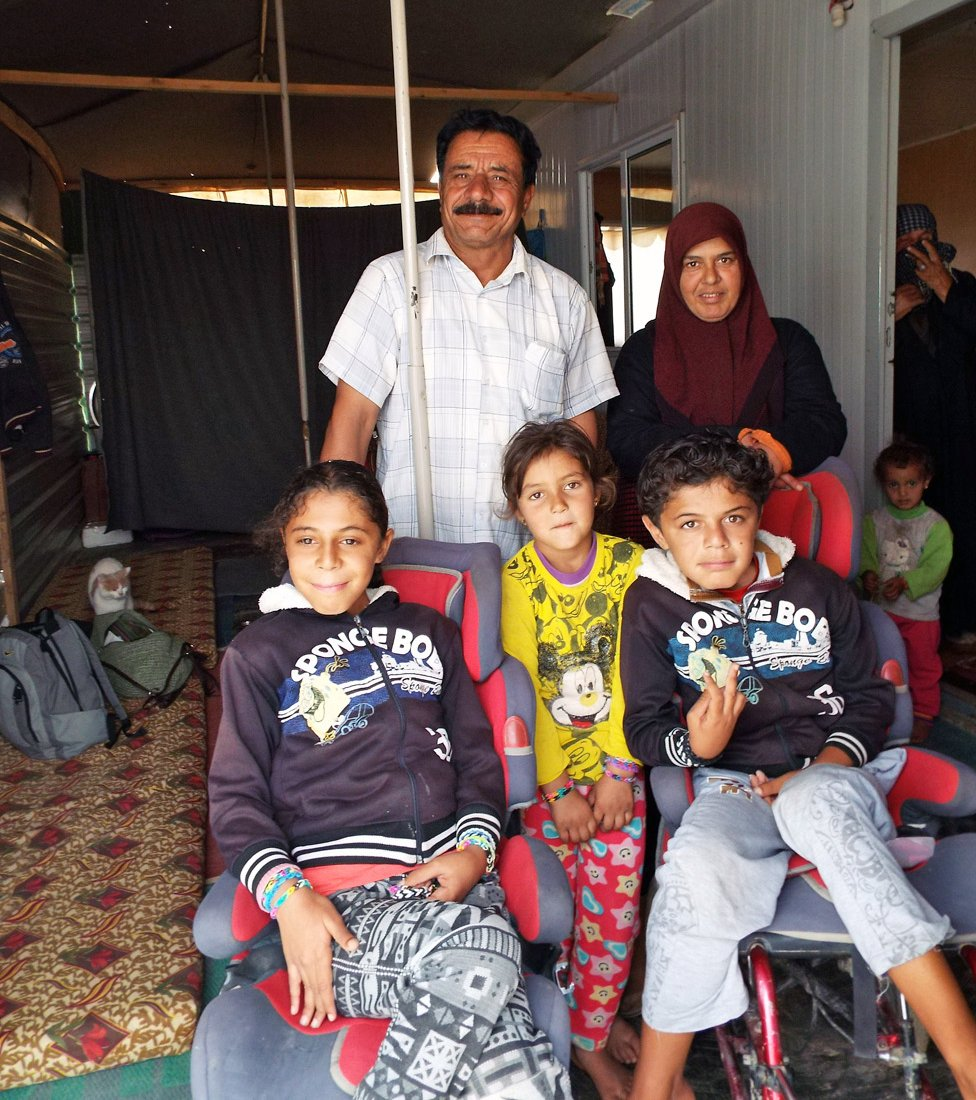 Nazleh and her husband have six children, four of whom have a degenerative muscle wasting condition