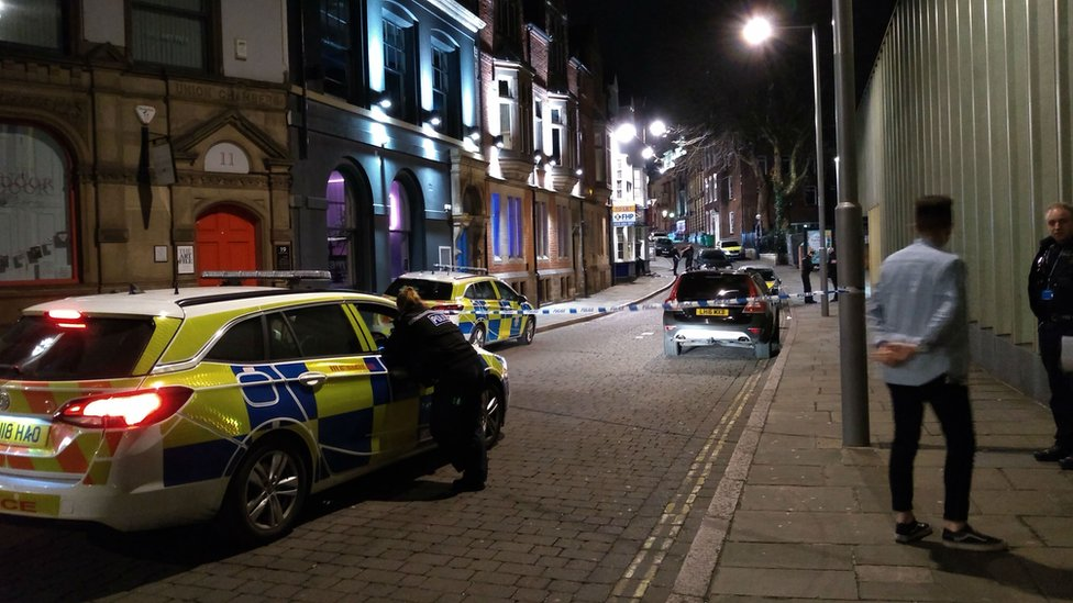 Teenagers stabbed in Nottingham appear before court