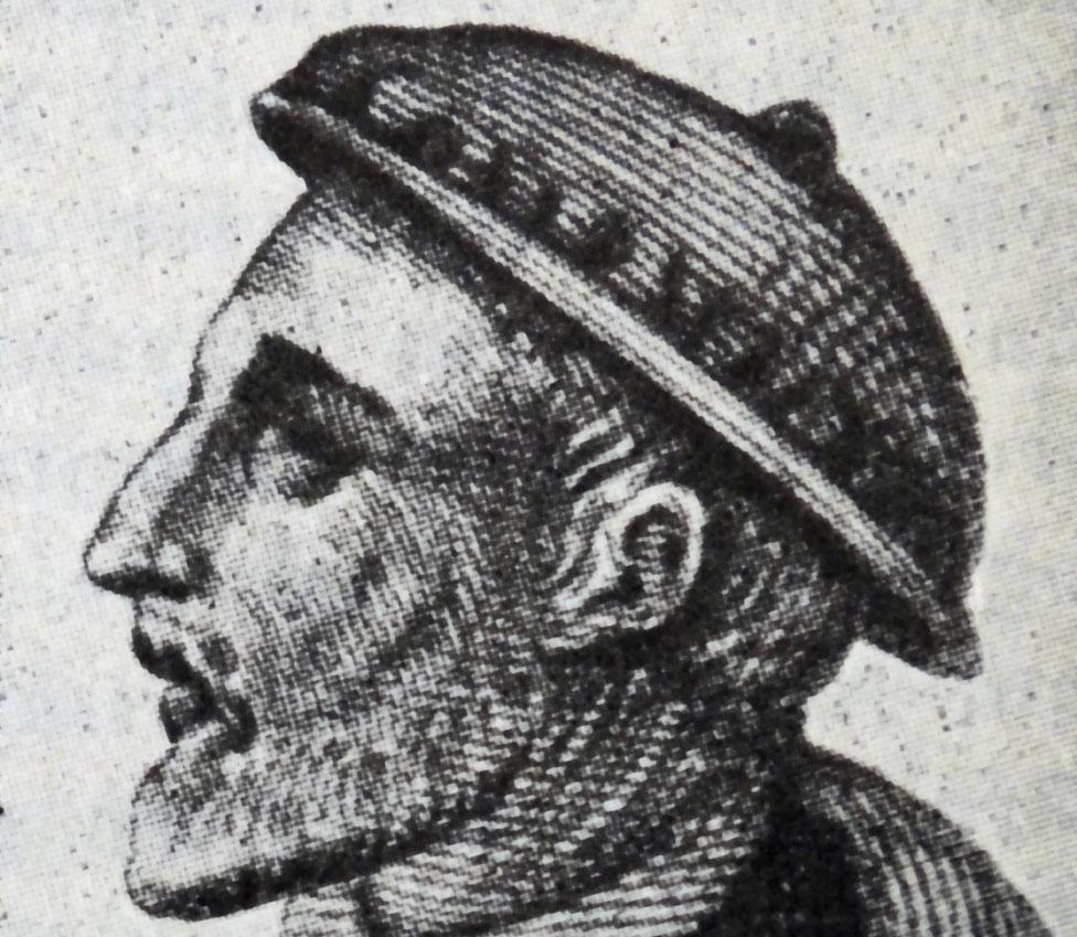 Ilustración de Gerolamo Cardano.